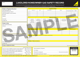 Landlord Gas Certificate in Dudley